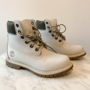Timberland Snow Boots light grey leather
