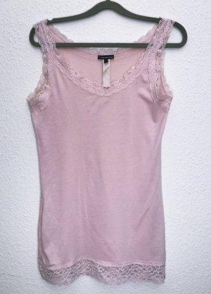 Neuwertig Top Shirt Bluse Spitze rosa Street One Größe M 38 Damen Stretch Neu 25,99€