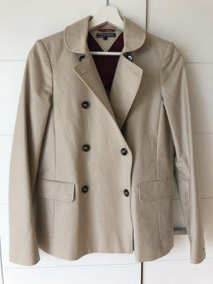 Neuwertig - Trenchcoat Jacke von Tommy Hilfiger, Gr. 34, beige