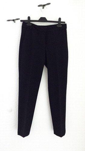 7/8 - Stoffhose von Zara in schwarz/blau, Gr. 34