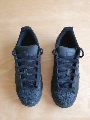 Adidas Originals Zapatilla brogue negro Cuero