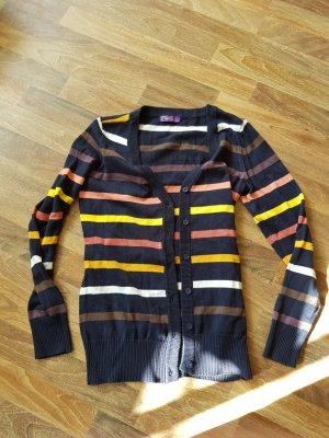 AJC Veste en tricot multicolore tissu mixte