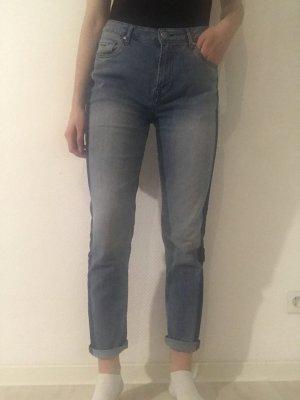 Neuwertige, Blaue Mom Jeans von Pepe Jeans