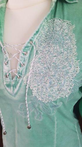 Neuwertige Bluse in coolem Grün