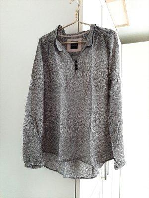 Neuwertige Bluse von Promod, rosa/schwarz, Gr. 36