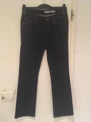 DKNY Jeans Vaquero de corte bota azul-azul oscuro Algodón