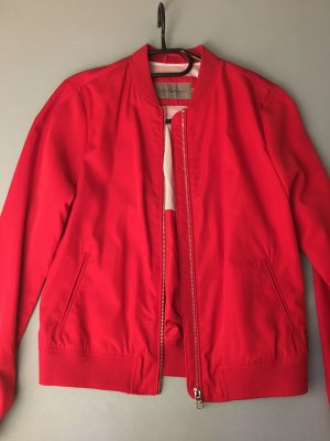 Calvin Klein Jeans Bomber Jacket red