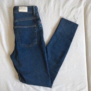 Cheap Monday Jeans a vita alta blu