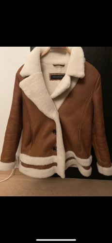 Drykorn for beautiful people Fur Jacket multicolored leather