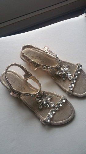Flip flop sandalen goud
