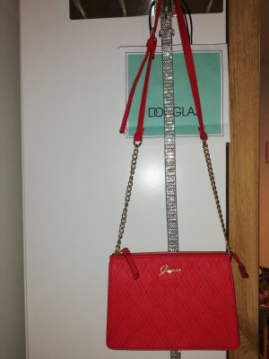 Guess Shoulder Bag gold-colored-red