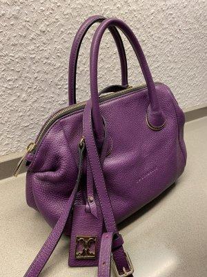 Coccinelle Sac à main violet foncé cuir