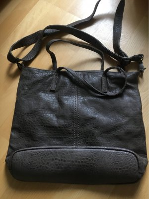 Fritzi aus preußen Crossbody bag grey brown