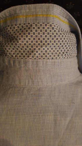 Neuwertige hellblaue leichte Leinenbluse Gr.36