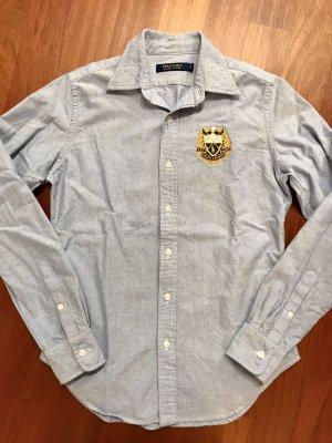 Polo Ralph Lauren Shirt Blouse light blue cotton