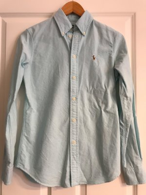 Polo Ralph Lauren Shirt Blouse turquoise cotton