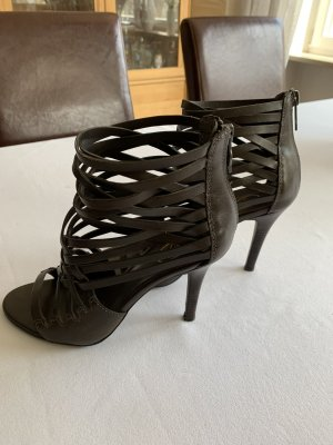 ASH High Heels taupe-anthracite