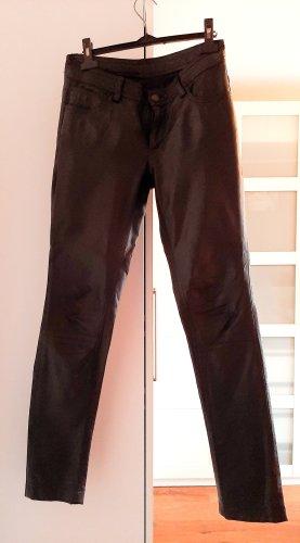 Neuwertige Hose aus echtem Leder von GIPSY (Mauritius) in schwarz, Gr. 36