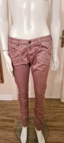 Petra R Spodnie typu boyfriend w kolorze różowego złota-bladofiołkowy