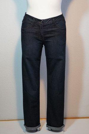 Cecil Jeans vita bassa blu scuro Cotone