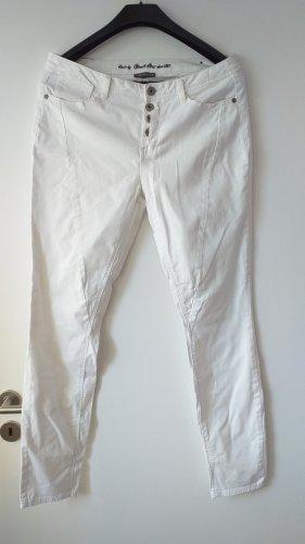 Street One Pantalone cinque tasche bianco