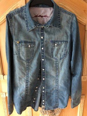 bluefire Jeans blouse lichtblauw