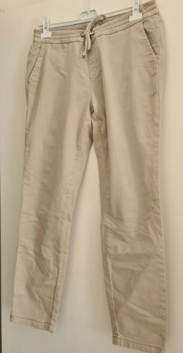 Comma Jeans baggy beige clair