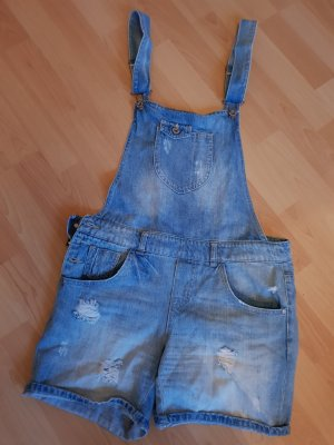 Only Dungarees steel blue-cornflower blue