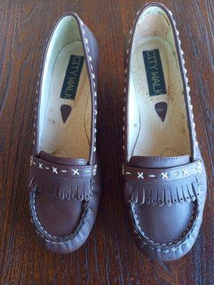 City Walk Zapatos formales sin cordones marrón