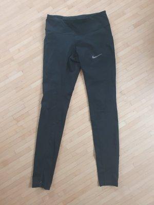 Neuwertige Nike Running Tights mit Mesh, Gr. XS