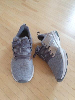 Neuwertige Nike Sneaker, grau/Roségold, Gr. 37,5