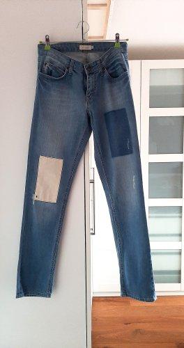 Neuwertige Patchwork Jeans von Bonaparte, Gr. 36