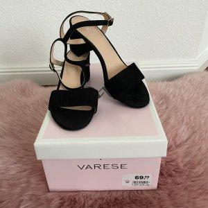 Varese Sandale d'extérieur noir-beige cuir
