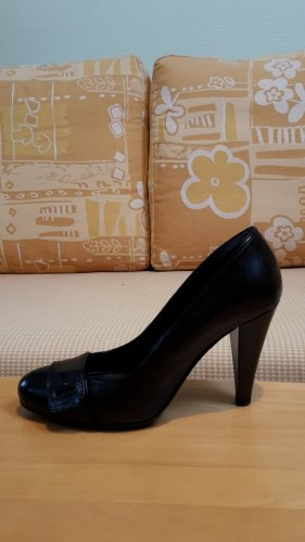 Neuwertige schwarze MISS SIXTY Pumps Modell 'Cindy' in Glattleder