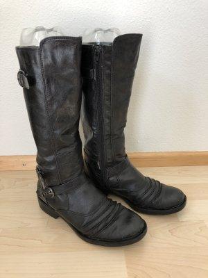 Neuwertige Stiefel schwarz Größe 38