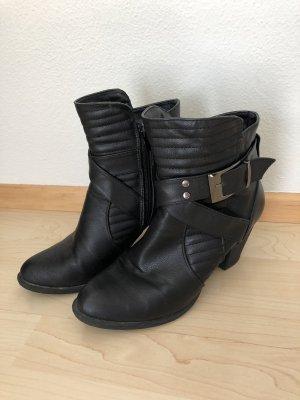 Neuwertige Stiefeletten schwarz