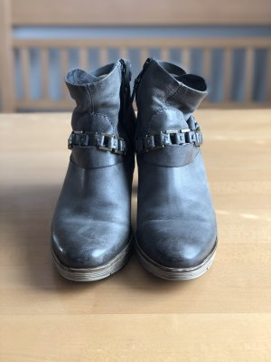 Mjus Botas de tobillo gris oscuro-gris