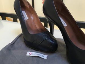 Neuwertige & superbequeme Designerschuhe High Heels mit Beutel v. L'autre chose