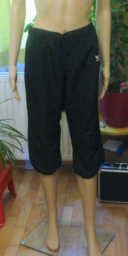 Neuwertige, supertolle 3/4 Sporthose, Capri, Trainingshose von ERIMA in schwarz, Größe DE 36/38