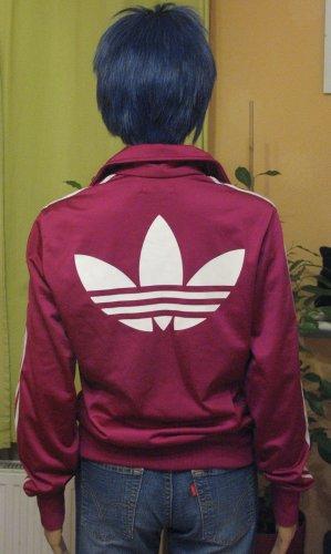 Adidas Sports Jacket violet-magenta polyester