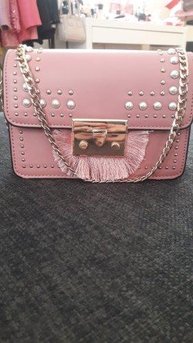 Neuwertige Topshop Tasche mit Perlen