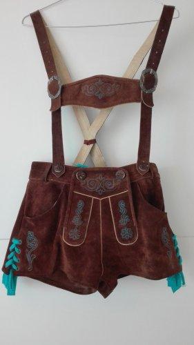 Pantalon traditionnel en cuir multicolore
