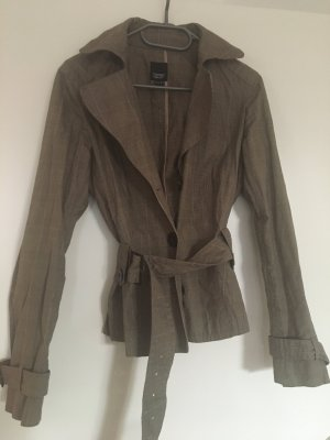 esprit collection Trench Coat multicolored cotton