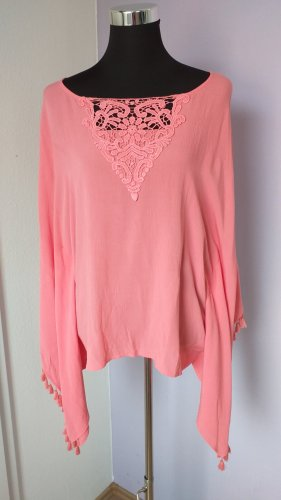 Chelsea Rose NYC Tunic Blouse apricot