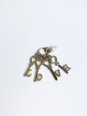 neuwertiger Anhänger - LOVE - Schlüssel