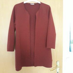 Only Cardigan tricotés rouge carmin-rouge foncé polyester