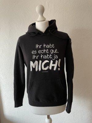 by EMP Capuchon sweater zwart-wit