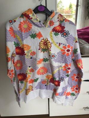 Only Fashion Sweat à capuche multicolore