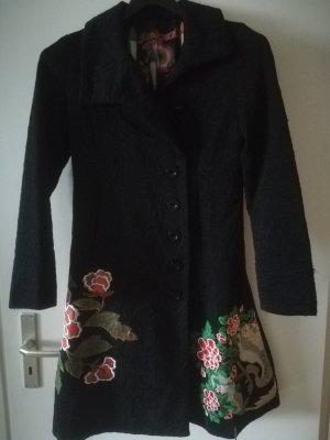 Neuwertiger Mantel DESIGUAL, GRÖSSE 40, Seitentaschen