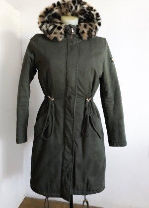 Tom Tailor Cappotto corto cachi-grigio-verde